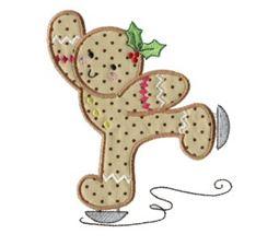 Gingerbreads Applique 5