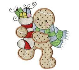 Gingerbreads Applique 7