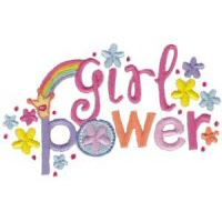 Embroidery Design Set - Girl Power