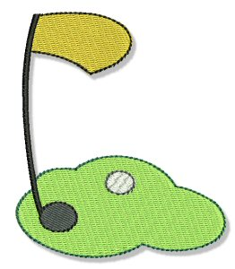 Machine Embroidery Designs | Golf | Bunnycup Embroidery