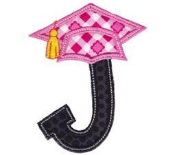 Graduation Alphabet Applique 10