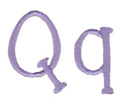Grandmas Garden Alphabet Q