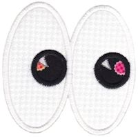 Halloween Eyes Applique