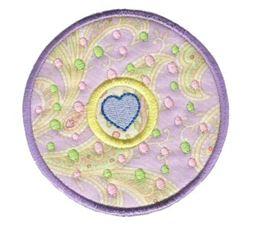 Hearts And Circles Applique 11