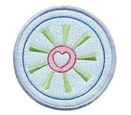 Hearts And Circles Applique 15