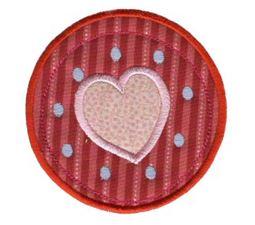 Hearts And Circles Applique 3