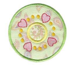 Hearts And Circles Applique 4