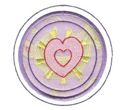 Hearts And Circles Applique 8