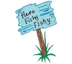 Here Fishy Applique 12