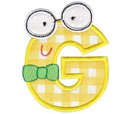 Hipster Boys Alpha Applique G