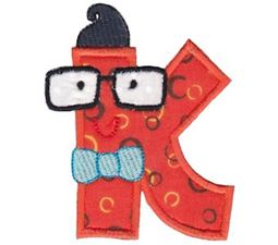 Hipster Boys Alpha Applique K