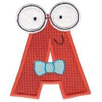 Hipster Boys Alpha Applique