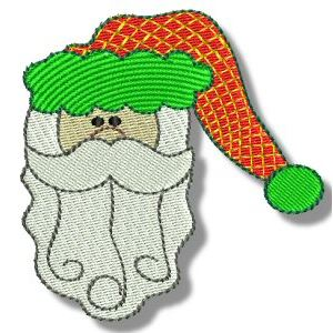 Embroidery Design Set - Ho Ho Ho 1