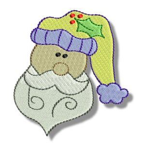 Embroidery Design Set - Ho Ho Ho 3