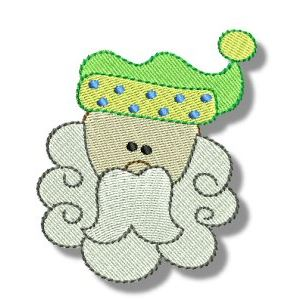 Embroidery Design Set - Ho Ho Ho 9