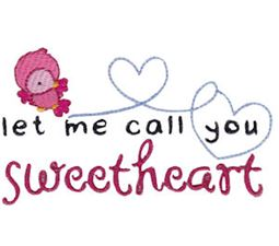 Let Me Call You Sweetheart