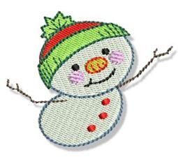 Itty Bitty Snowmen 10
