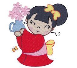 Kokeshi Dolls 1