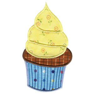 Embroidery Design Set - Lifes A Cupcake 1