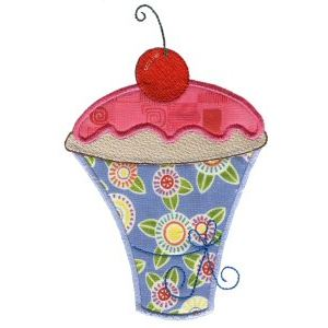Embroidery Design Set - Lifes A Cupcake 10