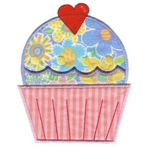 Embroidery Design Set - Lifes A Cupcake 11