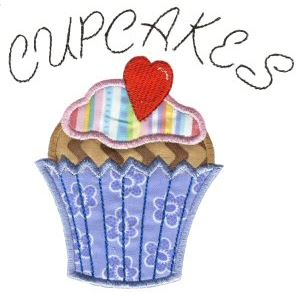 Embroidery Design Set - Lifes A Cupcake 12