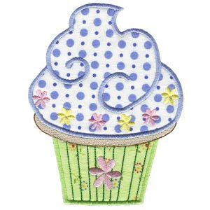 Embroidery Design Set - Lifes A Cupcake 3