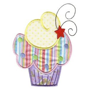 Embroidery Design Set - Lifes A Cupcake 5