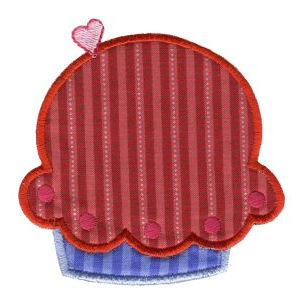 Embroidery Design Set - Lifes A Cupcake 6