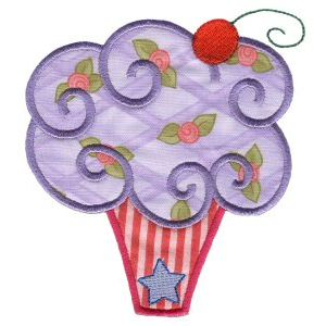 Embroidery Design Set - Lifes A Cupcake 7