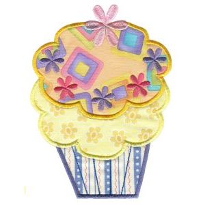 Embroidery Design Set - Lifes A Cupcake 8