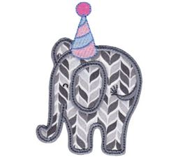 Little Elephant Applique 12