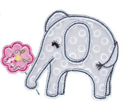Little Elephant Applique 2