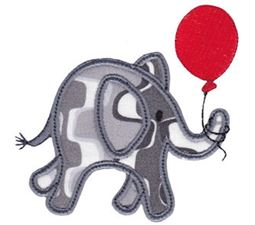 Little Elephant Applique 3