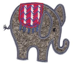 Little Elephant Applique 8
