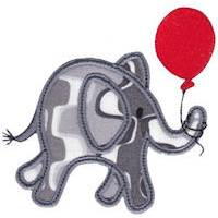 Little Elephant Applique