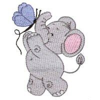 Embroidery Design Set - Little Nellie