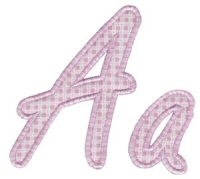 Lovely Applique Alphabet