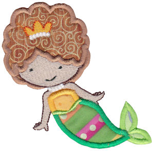 Magical Mermaids Applique 2