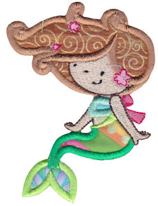 Magical Mermaids Applique 5