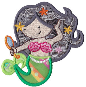 Magical Mermaids Applique 7