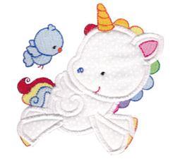 Magical Unicorns Applique 2