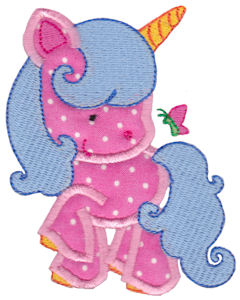 Magical Unicorns Applique 4