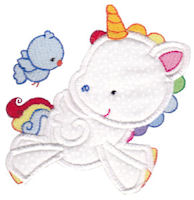 Magical Unicorns Applique