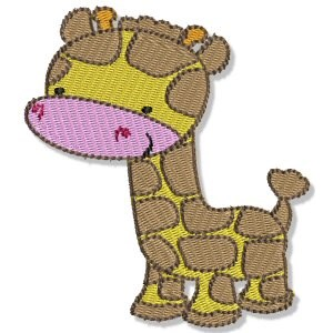Embroidery Design Set - Mighty Jungle Animals 3