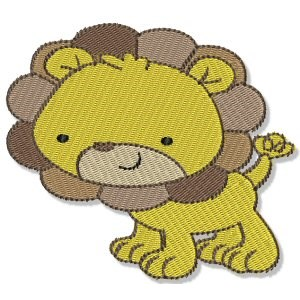 Embroidery Design Set - Mighty Jungle Animals 5