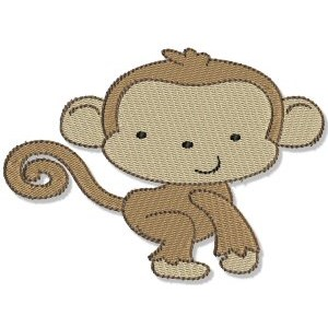 Embroidery Design Set - Mighty Jungle Animals 6