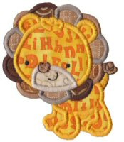 Mighty Jungle Animals Applique