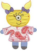 Missy Monster Applique