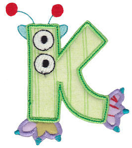 Monster Mash Alpha Applique 11